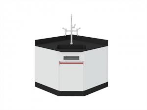 SAN-A201轉角桌附水槽