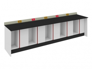 SAN-A210  實驗邊桌