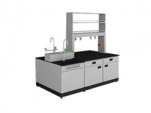 SAN-A213中央實驗桌附水槽