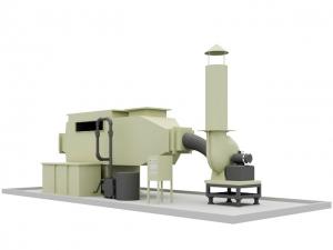 廢氣處理塔(臥式)