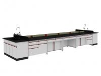 SAN-A101 中央实验桌附水槽