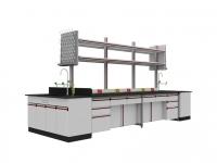 SAN-A102中央实验桌附水槽