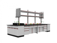 SAN-A102中央實驗桌附水槽
