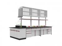 SAN-A103中央實驗桌附水槽