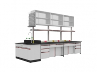 SAN-A103中央实验桌附水槽