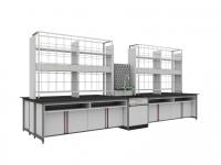 SAN-A105中央实验桌附水槽