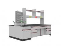 SAN-A112中央实验桌附水槽