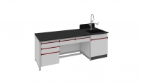 SAN-A117教师桌附水槽