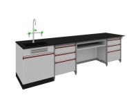 SAN-A118教师桌附水槽