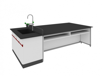 SAN-A120學生桌附水槽