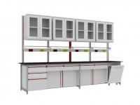 SAN-A124實驗邊桌