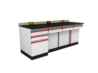 SAN-A206  實驗邊桌