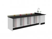 SAN-A211 中央實驗桌附水槽