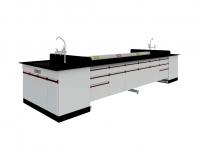 SAN-A301中央實驗桌附水槽